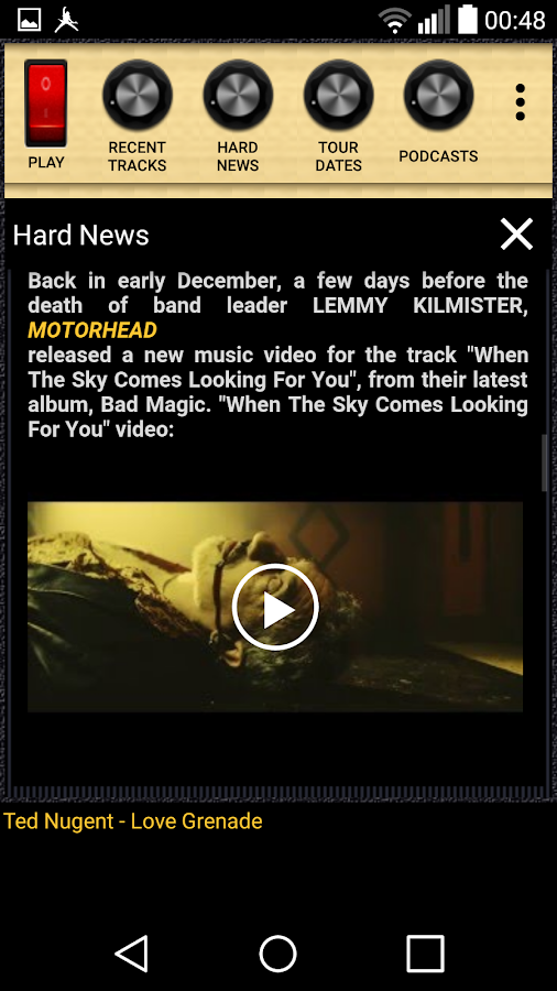 Heavy Metal Hard Rock Radio- screenshot