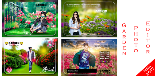 Garden Photo Frame Apps (apk) free download for Android/PC/Windows screenshot