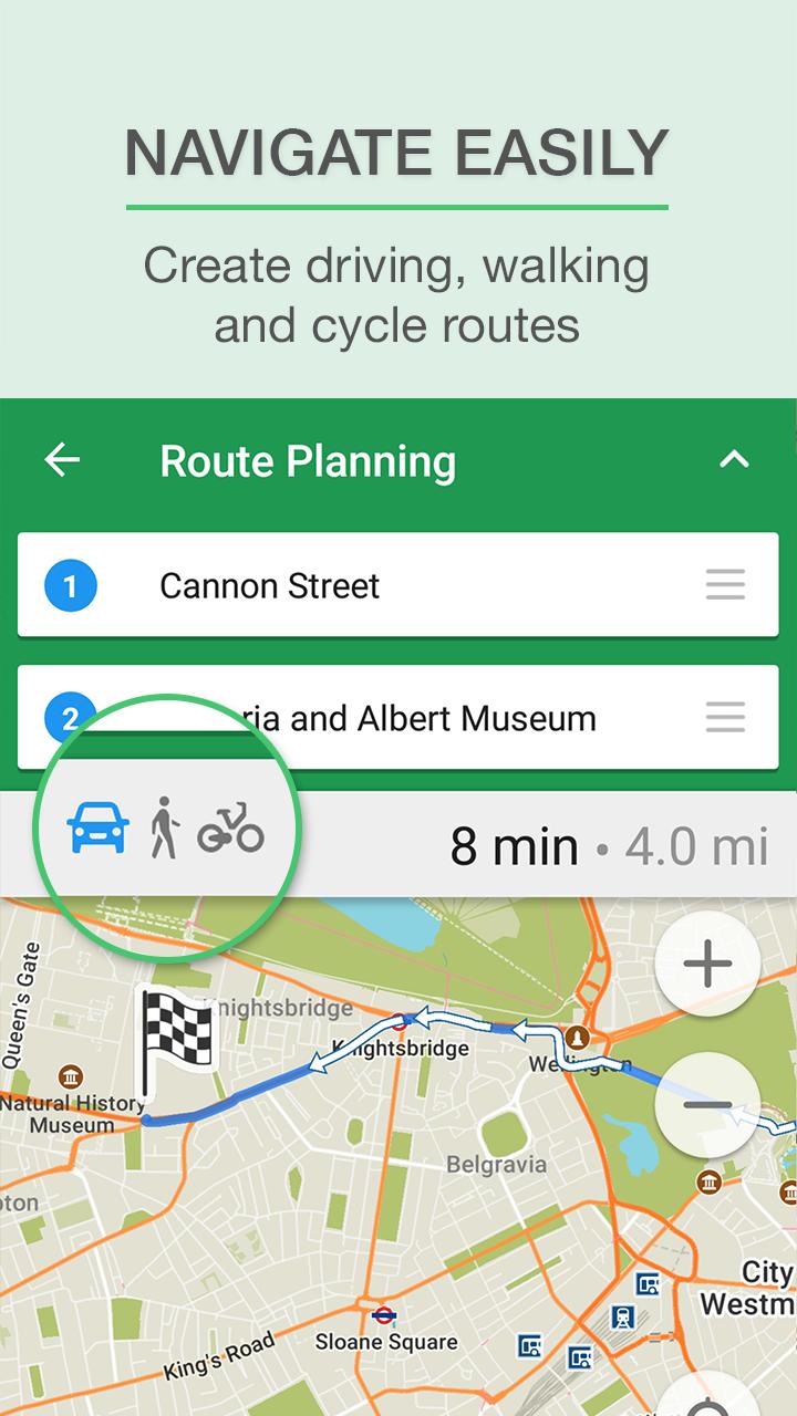 MAPS.ME – Map & GPS Navigation screenshot #3