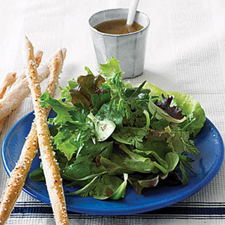 Greens and Herbs Salad with Classic Vinaigrette Recipe