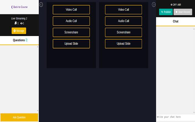 Ajardia EMS Screen Sharing