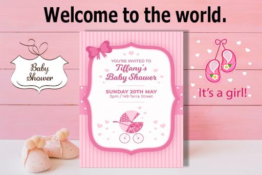 Baby Shower Invitation Maker Apps En Google Play
