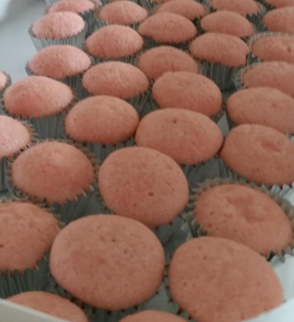 To make Cupcakes: Preheat the oven to 350 degrees. Line a 24-count mini muffin pan...