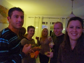 Photo: Apréo : Jérôme, Isabelle, Cathy, Charles, Nathalie.