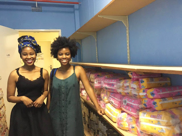 The Khumalo sisters aim to keep girls in school.