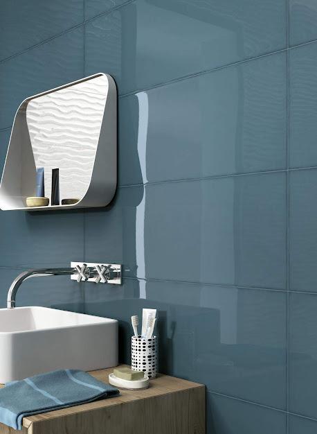 Ragno Frame - Kék fürdőszoba