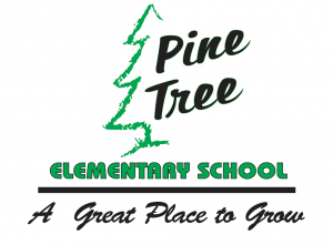 Pine Tree Elementary School logo