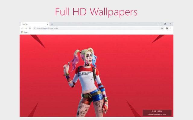 Fortnite 2020 HD New Tab
