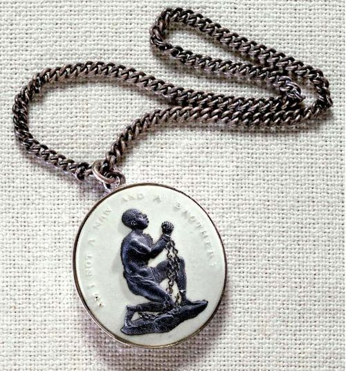 Antislavery medallion</a>, an icon of the early antislavery movement