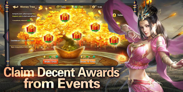 Mod Game Three Kingdoms: Chaos Arena for Android
