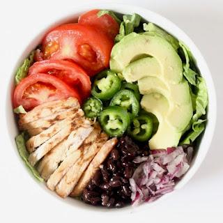 Southwestern Grilled Chicken Salad.