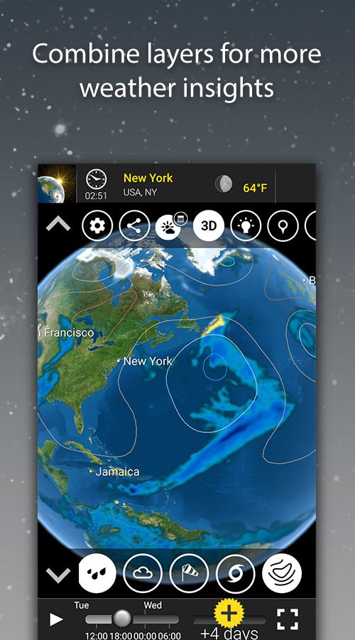 MeteoEarth screenshot #2
