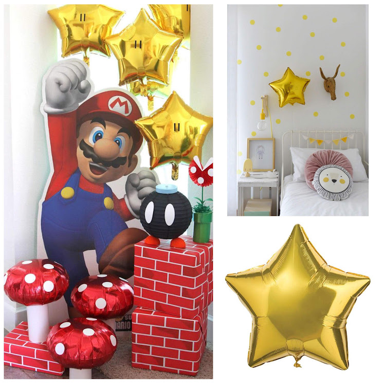 8-sorbos-de-inspiración-globos-foil-globos-helio-globos-estrella-globos-habitación-globos-mariobrow