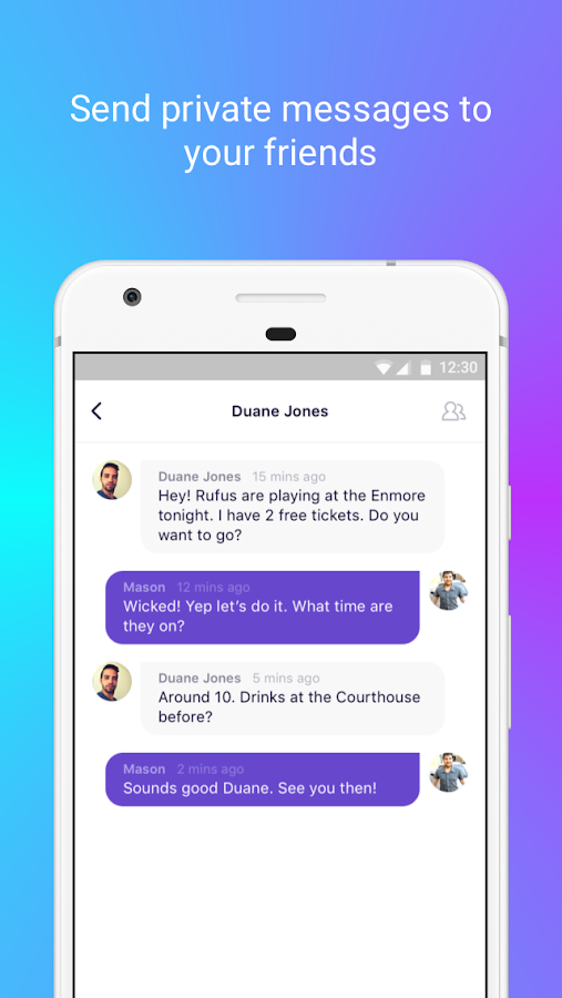 Sweep - Chat and Connect- screenshot