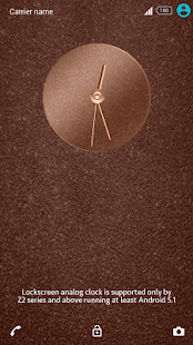 Shiny Copper Theme for Xperia- screenshot thumbnail