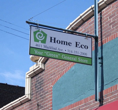 Home Eco sign