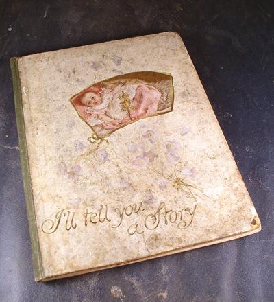 vintage baby book