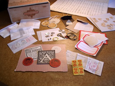 Cigar Box kit contents