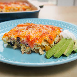 Southwest-style Breakfast Casserole.