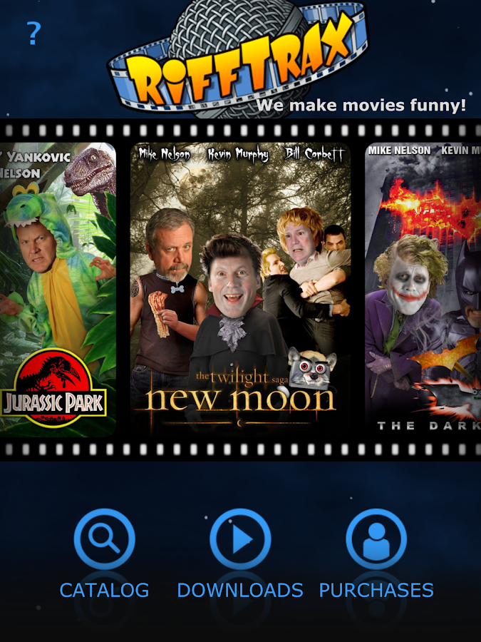RiffTrax - Movies Made Funny!- screenshot