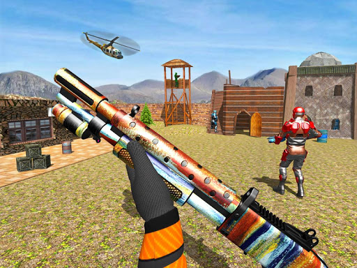 FPS Robot Shooter Strike: Anti-Terrorist Shooting apkpoly screenshots 19