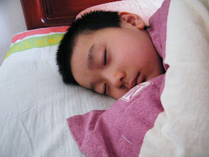 Photo: emakingir's works: baby son, warrenzh, owner of warozhu.com and wozon.net, in sleep in dawn.