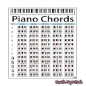 Piano Chord Scale Diagram icon