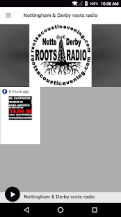Nottingham & Derby roots radio- screenshot thumbnail