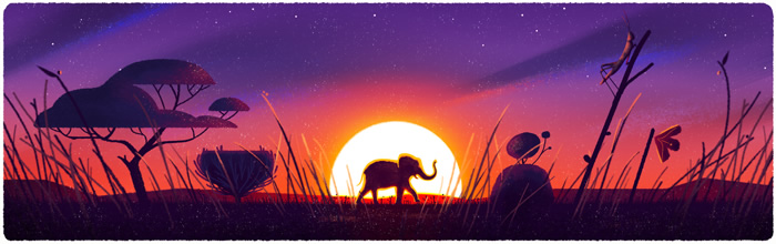 2016 Earth Day Google Doodle #3