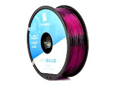 Translucent Purple MH Build Series TPU Flexible Filament - 1.75mm (1kg)