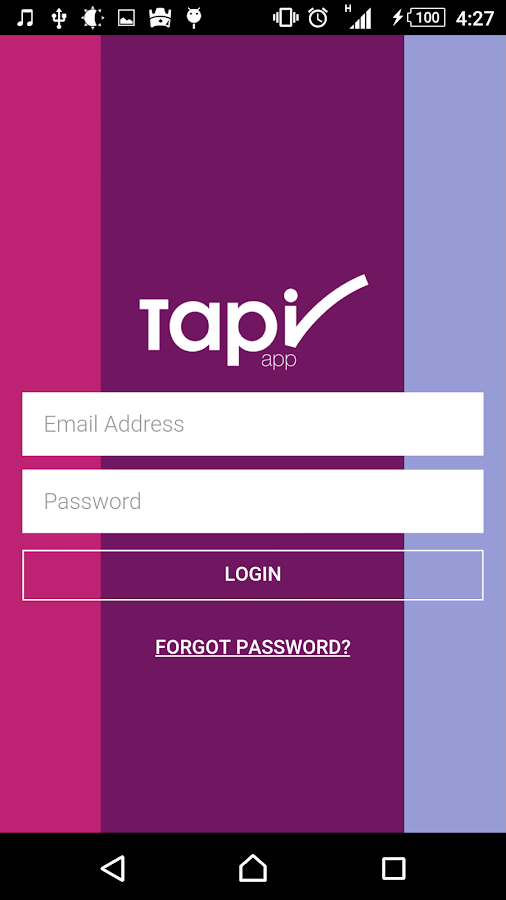 TapiApp- screenshot