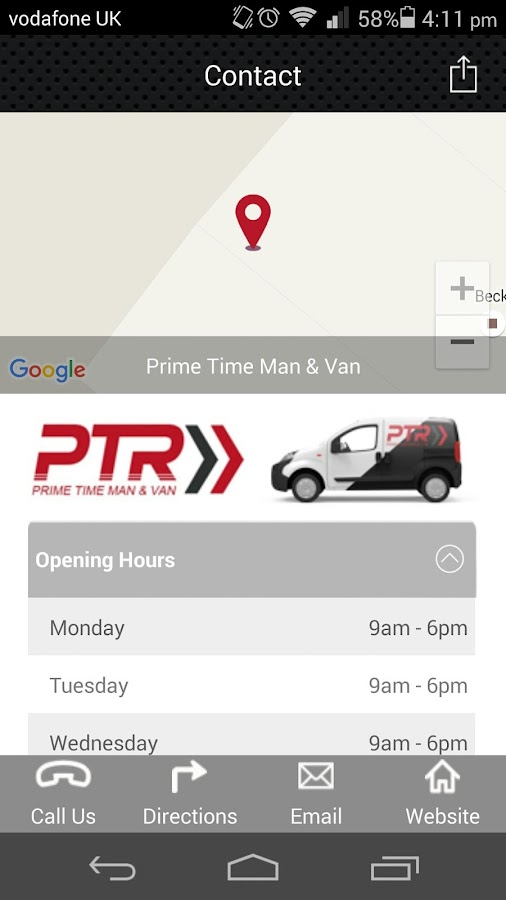 Prime Time Man & Van- screenshot