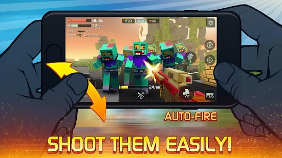 Craft Shooting - no rules in war for survival! Screenshot