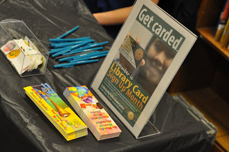 Photo: Library Card Month --Let's Read