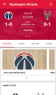 Washington Wizards Mobile- screenshot thumbnail