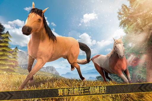 開心 馬兒 動物 快跑 模擬器 遊戲 愛 世界 天天 免費