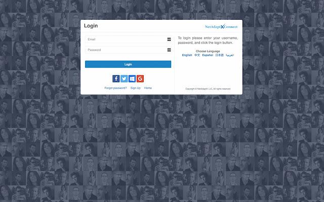 NetAdaptX Screen Sharing Extension