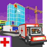 Hospital Craft: Building Doctor Simulator Games 3D Icon
