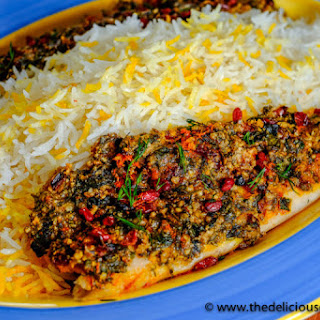 Almond Herb Crusted Baked Fish