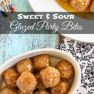Sweet and Sour Glazed Party Bites