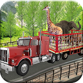 EID Animal & Zoo Animal Transport 3D Truck Game