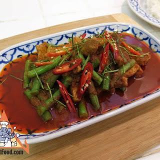 Pork Prik Khing, Pad Prik Khing Moo Recipe