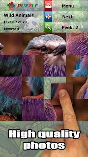 Wild animals puzzle: Jigsaw - screenshot thumbnail