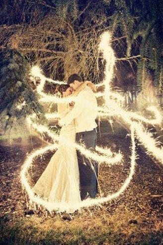 gorgeous firework light decoration