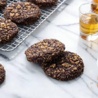 Bourbon Chocolate Sugar Cookies.