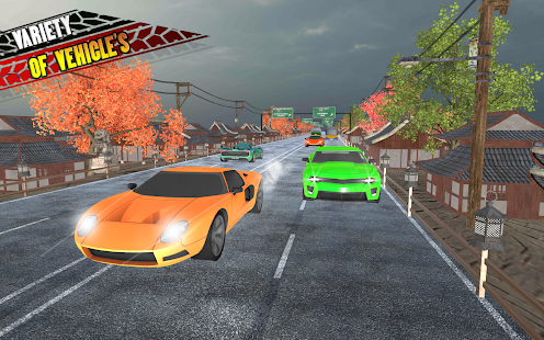 Traffic Highway Racer: Car Racing 2018