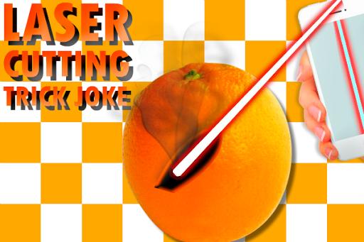 レーザー切断トリックジョーク