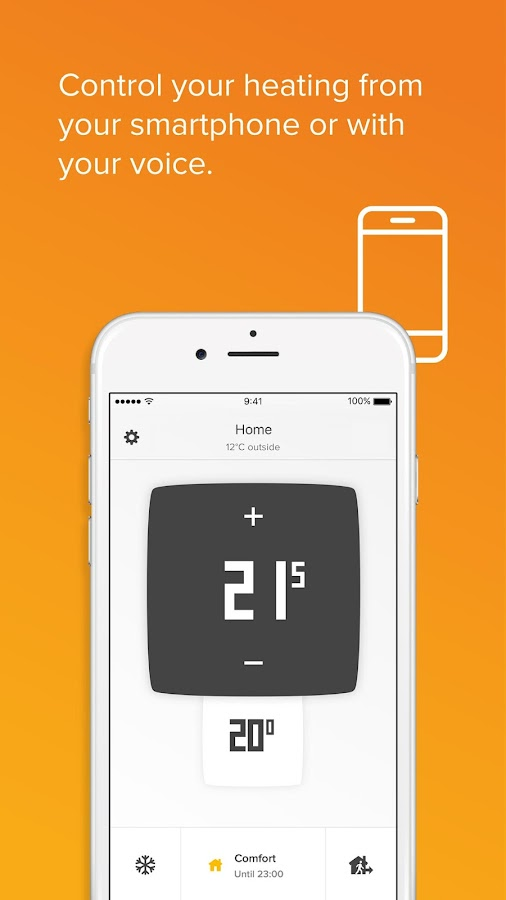 Netatmo Energy– captura de ecrã