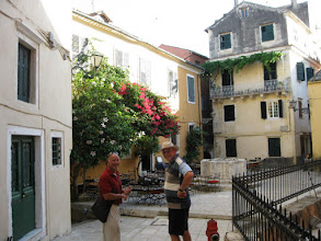 Photo: Harry and Phil Old city Corfu