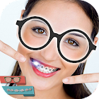 Nerd Stickers - Braces and Glasses Photo Editor